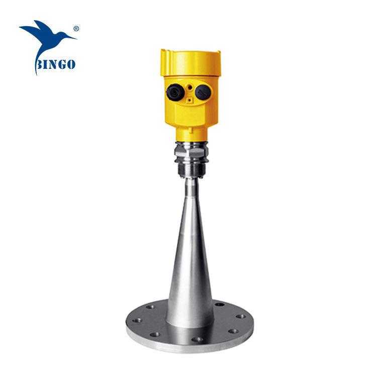 Yüksek hassasiyetli 24VDC220VAC güç kaynağı radar seviye vericisi
