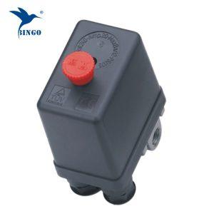 Ağır hava kompresörü basınç şalteri kontrol vanası 12 bar 4 portlu hava kompresörü anahtarları kontrol