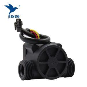 Siyah PP malzeme su akış sensörü boruları