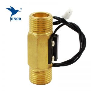 DN15 erkek manyetik Pirinç su akış anahtarı