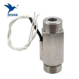 Su ısıtıcı için G1 ″ DN25 300V manyetik paslanmaz çelik akış şalteri