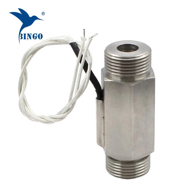 Su ısıtıcı için DN25 300V manyetik paslanmaz çelik akış şalteri