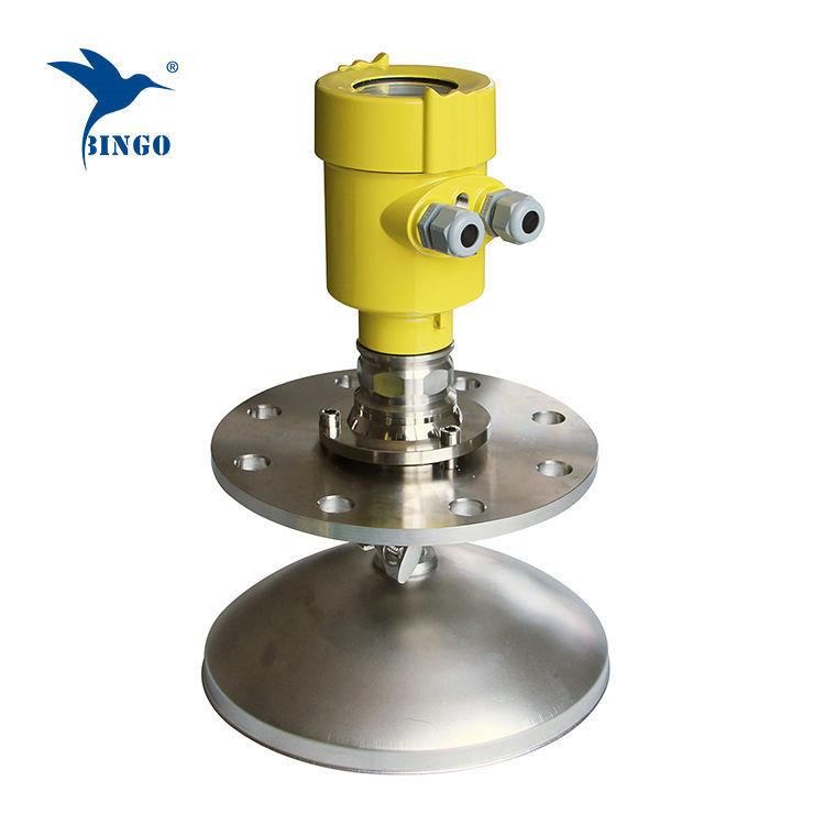 Güçlü tozlar için yüksek frekanslı 4-20mA Hart çıkışlı radar seviye vericisi