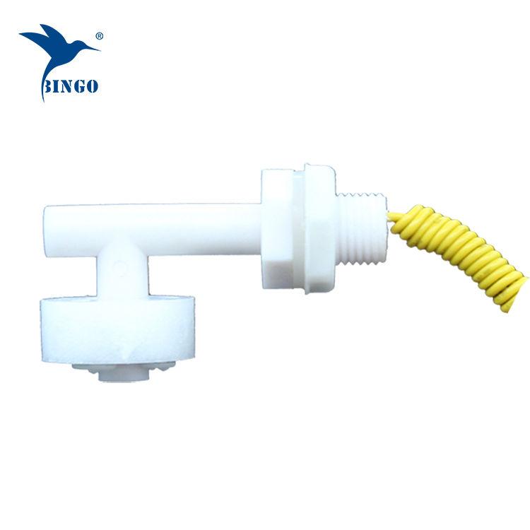 Su tankı için yatay mini L şekli plastik Şamandıra Anahtarı
