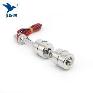 paslanmaz çelik 500 mm 2 top su seviyesi sensörü dikey şamandıra anahtarı
