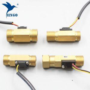 Yeni su akış anahtarı g1 / 2 ″ bakır hall etkisi sıvı su akış sensörü anahtarı debimetre ölçer 1 30l min