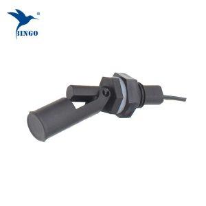 plastik yatay yan monte edilmiş 2 telli manyetik sıvı seviye şamandıralı şalter anahtarı ile yüksek / düşük seviye için